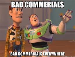 bad commercials