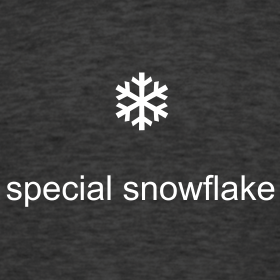 Image result for special snowflake