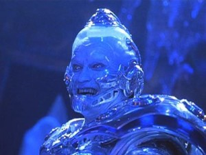 Arnold Schwarzenegger as Mr. Freeze in Batman & Robin.  Are your ads coming off as cheesy as this?