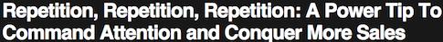 headline phraseology